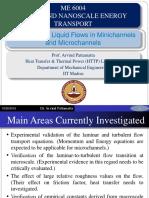 Single Phase Liquid Flows in Microchannel