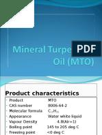 Mineral Turpentine Oil (MTO)