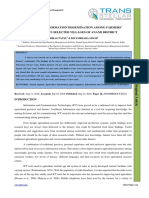 2. Ijsmmrd-Analysis of Information Dissemination Among Farmers' Community in Selected Villages of Anand District