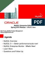 MySQL Enterprise Edition Spring2010release_whatsnew_final