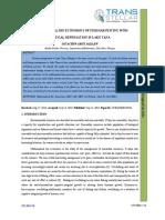 1. JMCAR - Mathematical Bio Economics of Fish Harvesting With Critical