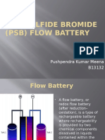 Polysulfide Bromide (PSB) Flow Battery