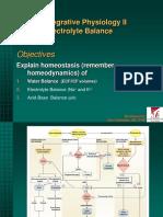Fluid-Electrolyte Balance