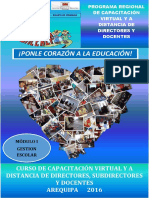 Modulo I Gestion Escolar