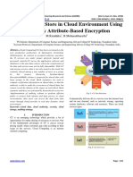 A Secured File Store in Cloud Environment Using Hierarchy Attribute-Based Encryption