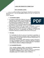 Defensa Oral Del Proyecto Curricular