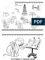 My Little Pony Coloring and Activity Sheets / Micul meu ponei