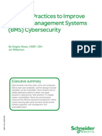 Five Best Practices to Improve Bms Cybersecurity White Paper