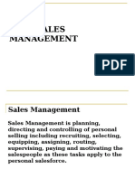 Chapter 1. Sales Mgt