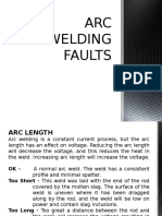 Arc Welding Faults