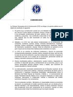 Comunicado CVC 18112016