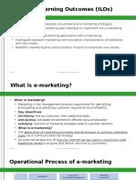 Mis Lecture 6 E-marketing