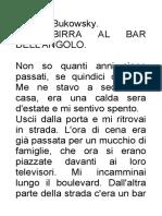 Bukowski, Charles - Una Birra Al Bar Dell'Angolo