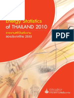 Energy Stat Thailand 2010