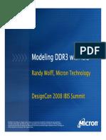 Ddr3 Ibis Model Setup