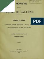 Le monete delle zecche di Salerno. Pt. 1