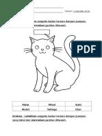 Bahan Transisi Hari Pertama (Melabel Anggota Badan Haiwan)