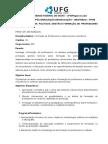 Plano de Curso Formação de Professores e Saberes Para a Docência 2015 (1)