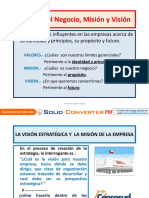 Valores Del Negocio, Vision y Mision[1]