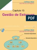 Gestão de Estoques Cap 13 Adm Prod 1 2005 2