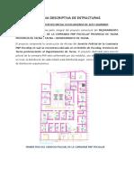 Memoria Descriptiva de Estructuras- Comisaria Pocollay