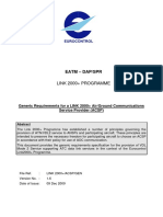 Link2000 Generic Requirements