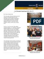 wrt 331 newsletter harrington hub
