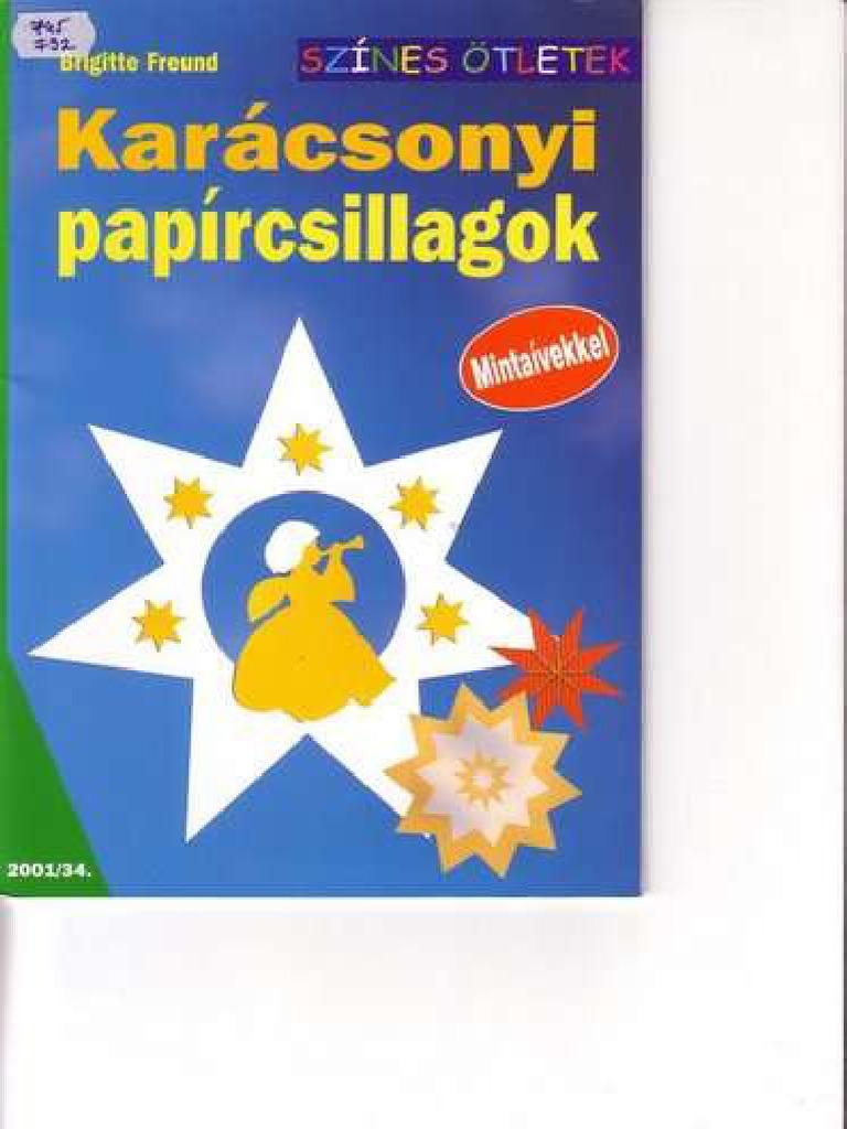 Brigitte Freund - Karácsonyi papírcsillagok.pdf 94355e3ab2