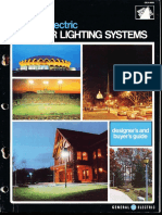 GE Lighting Systems Outdoor Lighting Designers Guide 1972