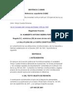 Sentencia C-036 de 2005