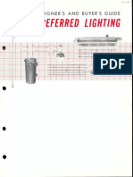 GE Lighting Systems Preferred Lighting Buyers Guide 1960