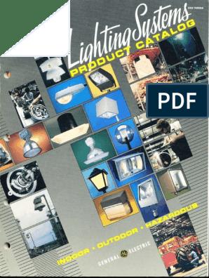 GE Lighting Systems Product Catalog 12-1985   Lighting ... on
