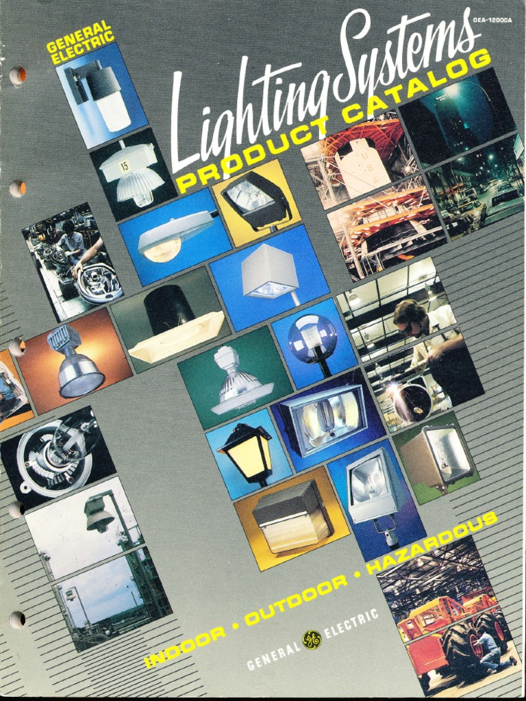 GE Lighting Systems Product Catalog 12 1985
