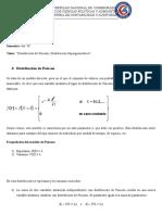 Estadistica Distribucion de Poisson