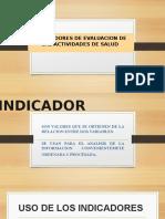 Diapos Indicadores - Salud
