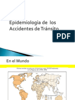 Accidentes de transito - salud publica