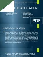 Hydro de Alkylation