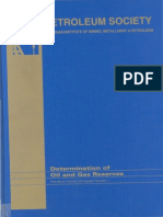 Petroleum Society Monograph 1- Determination of Oil and Gas Reserves