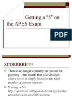 Tips for Getting a 5 on the APES Exam