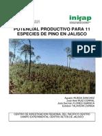 Especies Potenciales de Pino en El Estado de Jalisco. Review