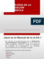 APA Monografías