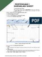 Materi Excel 2007 Kls XI