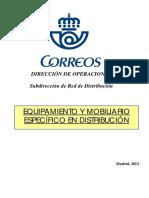CATÁLOGO Distribucion Equipamiento y Mobiliario Especifico