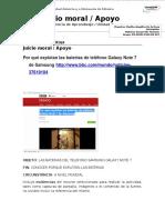 Instrucciones Evidencia de Aprendizaje. Unidad 1