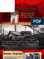 Teatro Obrero en Puerto Rico