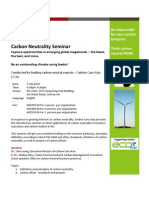 CCA Carbon Neutrality Seminar (Jul 7)