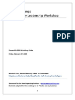 Power Shift Participant Guide