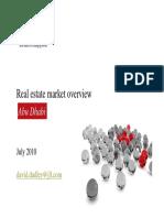 Real Estate Market Overview AD Jul 2010