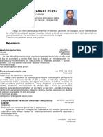 Cv Jose Gregorio Rangel Perez