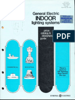 GE Lighting Systems Price Book - Indoor Designers Guide 5-79 - 9-79